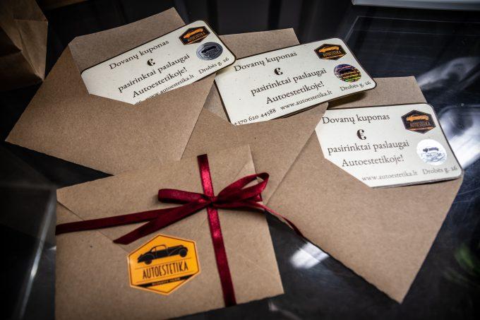 Autoestetikos dovanų kuponas